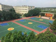篮球场-羽毛球运动场
